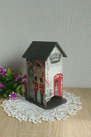 Чайный домик, ручная работа, подарок на кухню