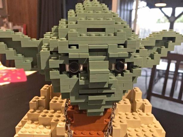 Lego Star Wars 7194 Yoda UCS unikat kolekcjonerski z 2002 rok