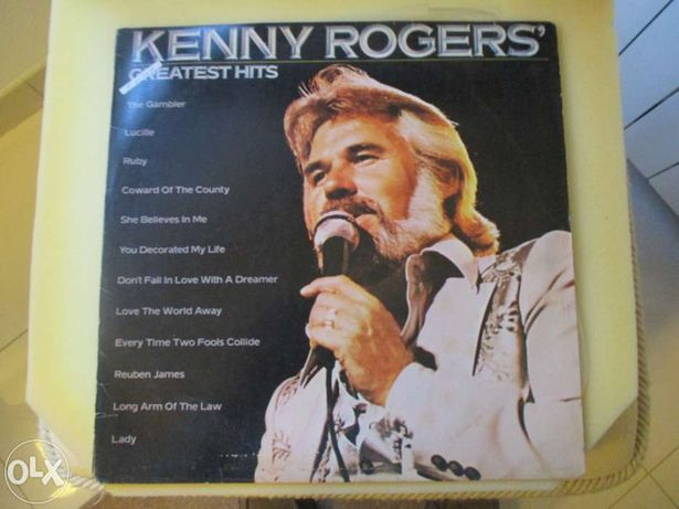 Lp greatest hits (kenny rogers)