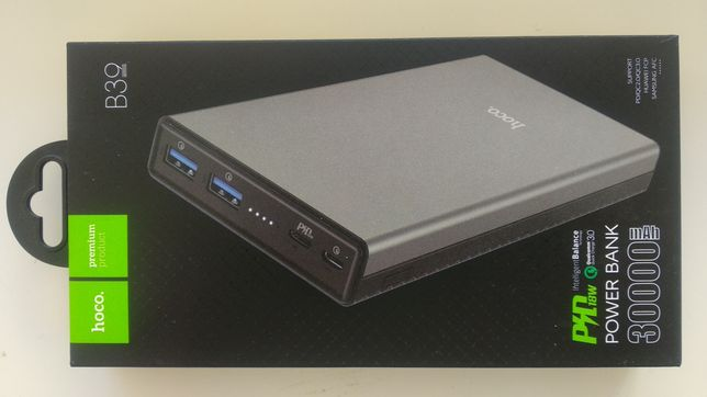 Power Bank / Внешний аккумулятор Hoco 30000 mAh (Original)