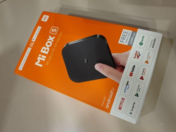 Xiaomi Mi Box S 4K Smart TV nowy