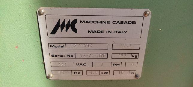 Casadei piłą formatowa frezarka maszyna stolarska pilarko frezarka