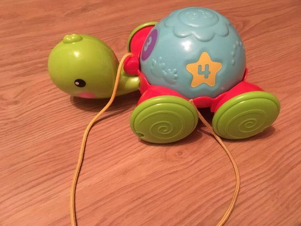 piłka, żółw, smily play