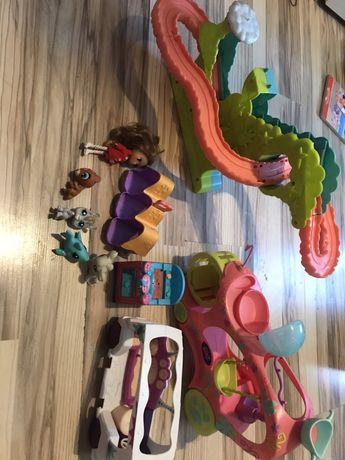 Pet shop duzy zestaw zabawek plus figurki