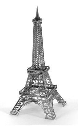 Металлический 3D конструктор Эйфелева башня.