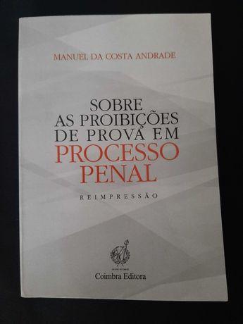 Livro Curso Direito - Proibições prova processo penal (oferta portes)