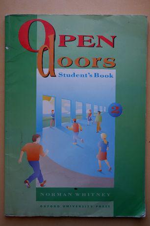 Open Doors 2, whitney, podręcznik do angielskiego