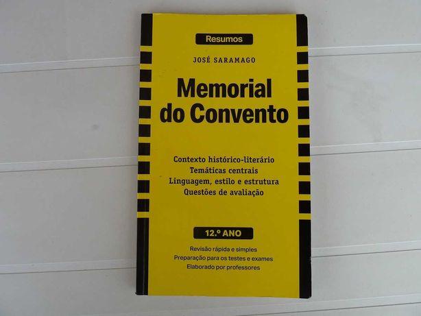 Resumos Memorial do Convento 12º ano (ctt grátis)