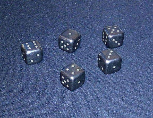 Кости игральные титановые кубики дайсы