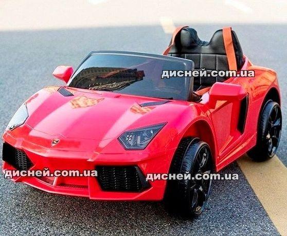 Детский электромобиль 753 ЕВА красный, Дитячий електромобiль