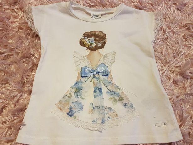 Bluzeczka z dziewczynką Mayoral r.92 poszukiwana