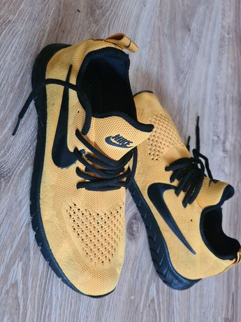 Nike buty sportswear żółte 43