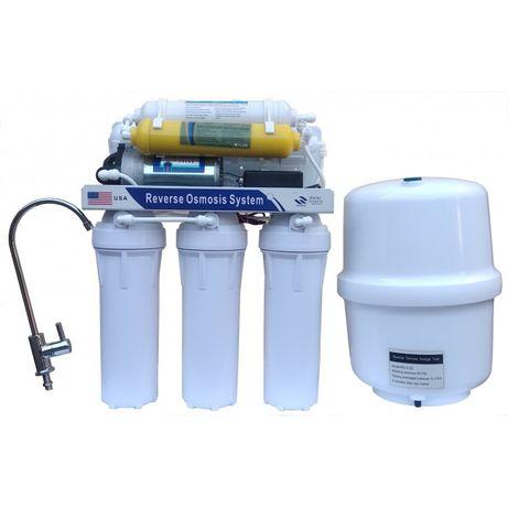 Фильтр для воды Обратный осмос с помпой,моторомRo-6p с минерализатором