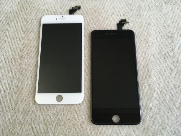 КАЧЕСТВО Дисплей на iPhone 5s/SE/6/6s/7/8 plus + черный белый экран