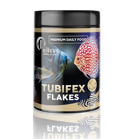 Hobby Discus Tubifex Flakes 250ml Pokarm dla ryb Rurecznik
