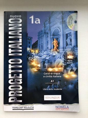 Nuovo progetto italiano 1a a1 podrecznik do języka włoskiego
