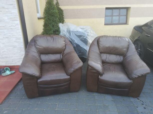 Fotel skórzany (wypoczynek)
