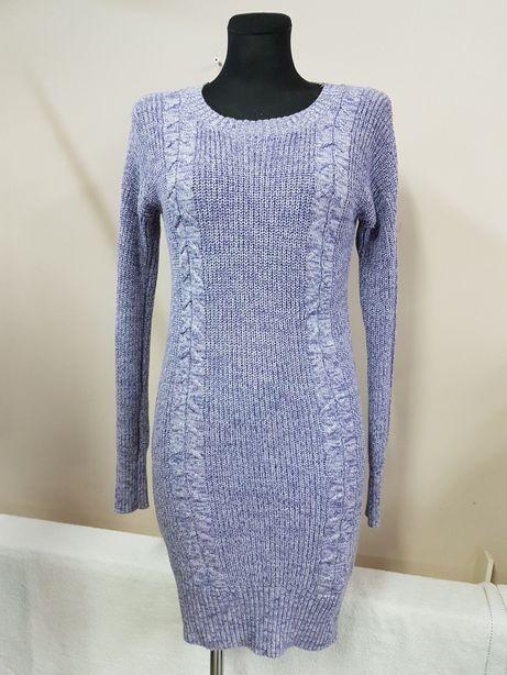 MOSSIMO USA r. 36/38 sukienka dzianinowa swetrowa