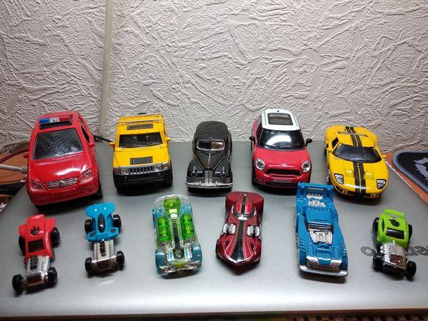 Машинки набор железные