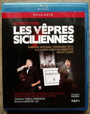 Nieszpory sycylijskie Giuseppe Verdi blu-ray