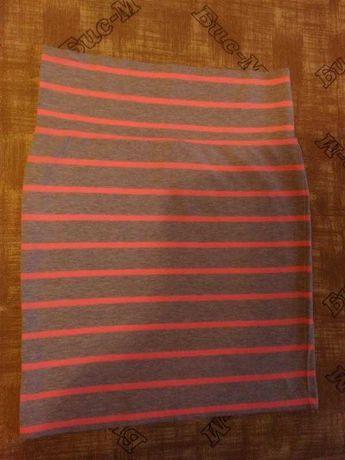 Новая трикотажная юбка S/M