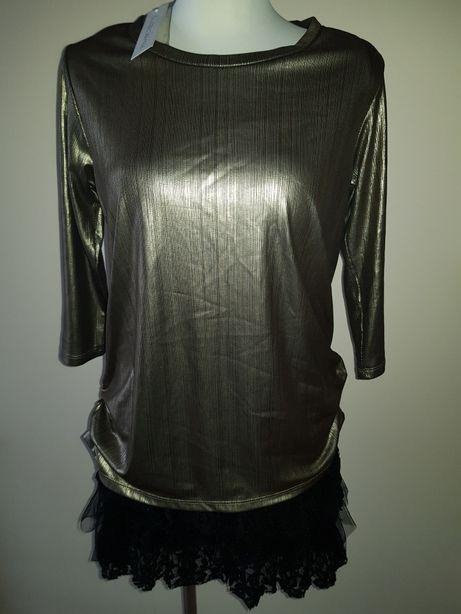 Sukienka złota NOWA Rinascimento