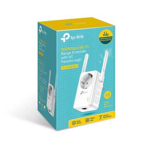Repetidor de Sinal Wi-fi TP Link - 300MB + Adaptador de tomada
