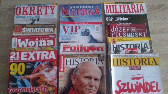 Czasopisma o tematyce historycznej, militarnej Okręty Poligon Historia