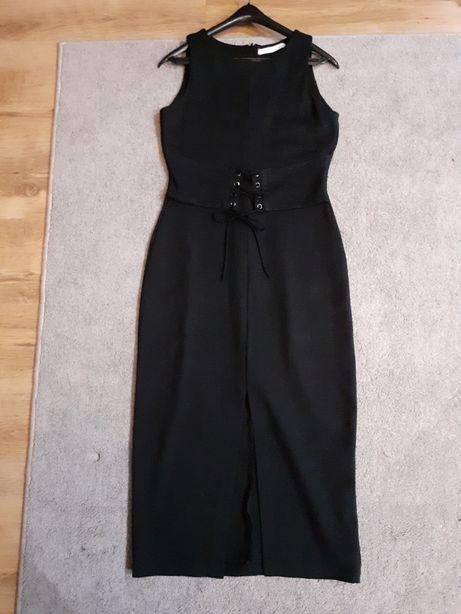 Sukienka zara czarna sexi nowa okazja