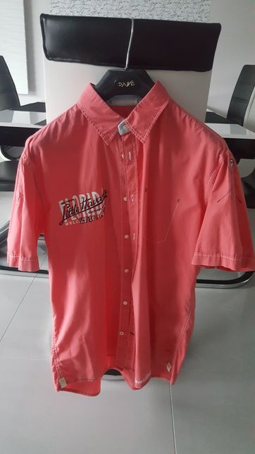 Męska koszula z krótkim rękawem TOM TAILOR ROZ.L