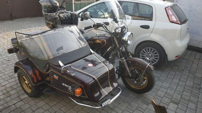 Срочно! Gold Wing 1100 с коляской