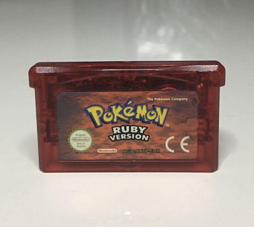 Pokémon Ruby Game Boy Advance muito bom estado