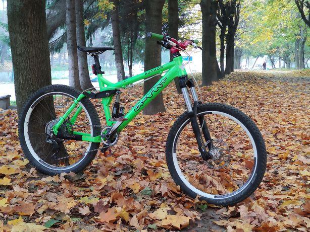 Ендуро велосипед Author 26 колеса 160 та 150 мм ходу Rock Shox FOX SLX