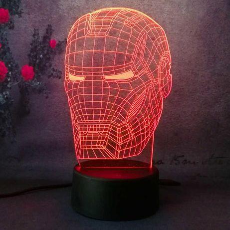 3D Светильники для настоящих фанатов!