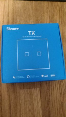 Sonoff TX T1 EU 2C podwójny włącznik wi-fi RF 433Mhz + Temp + Soft