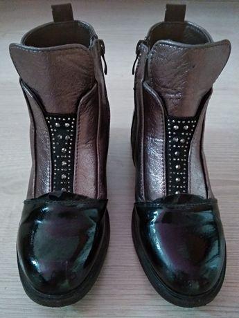 Демисезонные ботинки на девочку 33р,стелька 20см