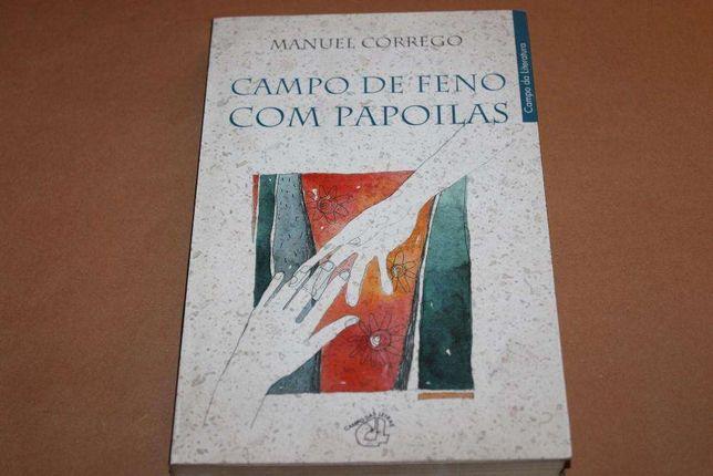 Campo de Feno com Papoilas de Manuel Córrego