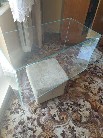 Akwarium 80×40×40 opti-white 150l szkło 8mm