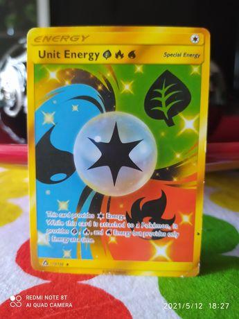Carta de Pokémon Unit Energy