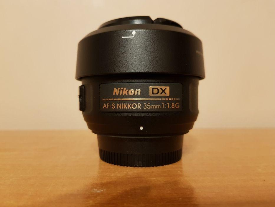 Obiektyw AF-S 35mm F/1.8 G DX NIKON Łomnica - image 1