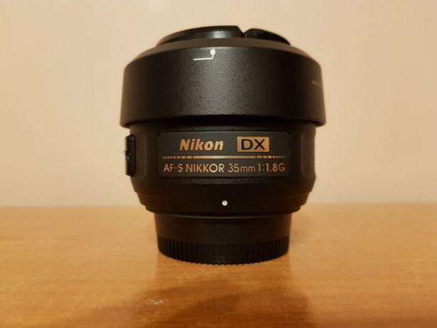 Obiektyw AF-S 35mm F/1.8 G DX NIKON