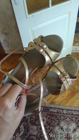 Туфельки туфли танцевальные
