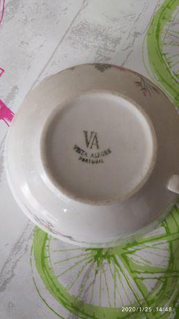 Conjunto chá e café vista alegre
