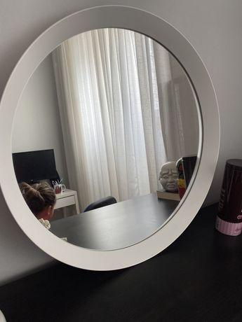 Espelho redondo branco ikea