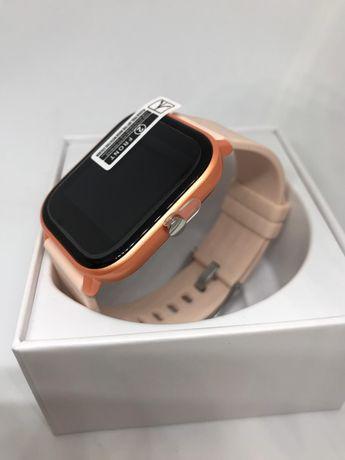 Nowy p8 smart watch beż/złoty