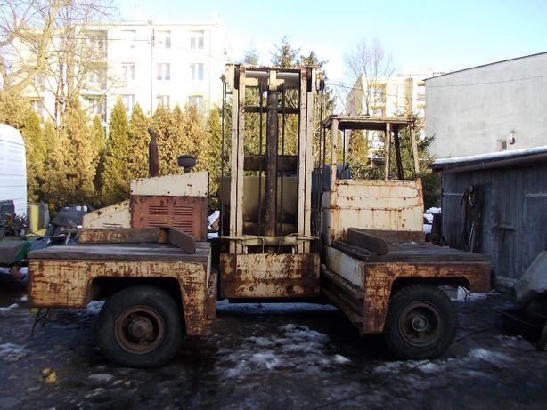 wózek widłowy gpw zremb desta boczny udźwig 5 ton