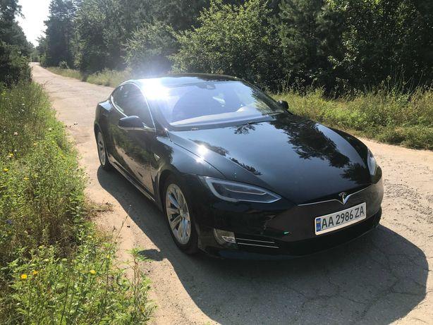 Tesla Model S 70D Black 2016 restyle
