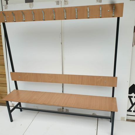 Ławka z wieszakiem 160cm