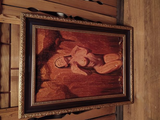 Янтарная (бурштин)картина
