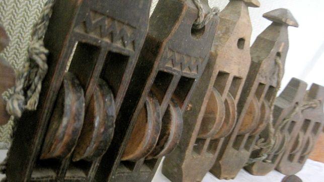 вироби коліщані деревяні зі шнурочками сделано ручное изделия подвесны